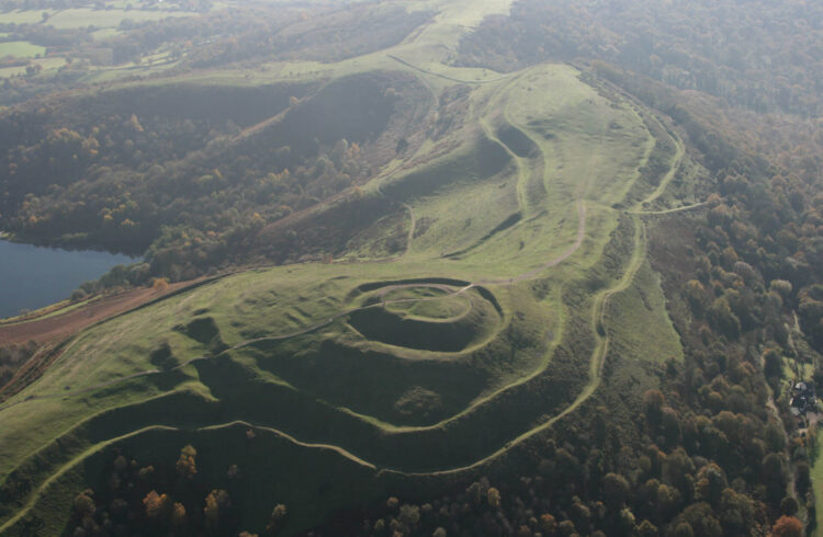 British Camp from above (c) Neil Rimmington