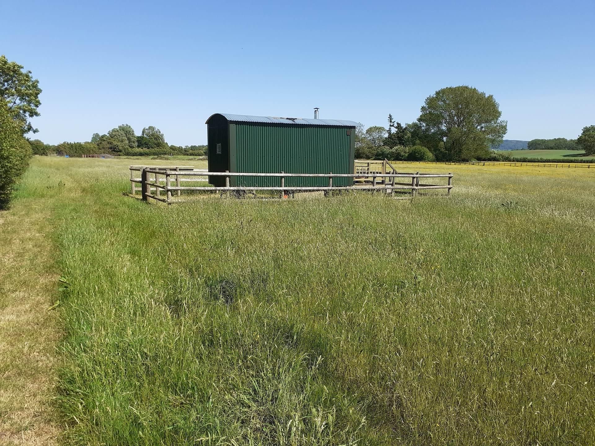 Bluebell Shepherds Hut 2