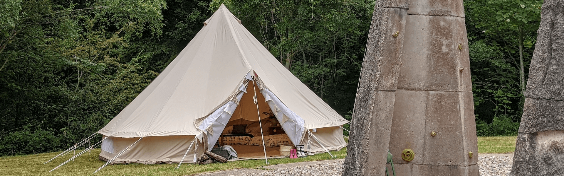 Boundless Outdoors Glamping Banner