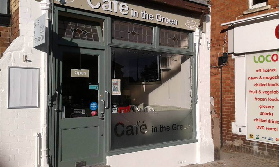 Cafe in Green 1
