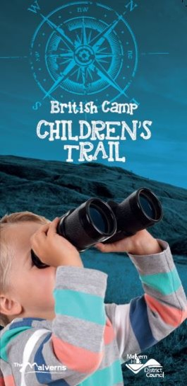 Children's British Camp Trail Front Cover