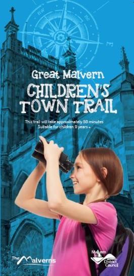 Children's Great Malvern 9+ Trail Front Cover