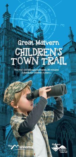 Children's Great Malvern Trail Front Cover