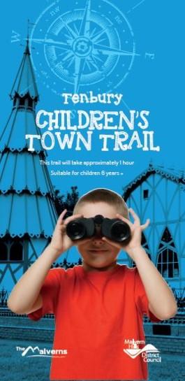 Children's Tenbury Town Trail Front Cover