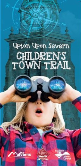 Children's Upton upon Severn Trail Front Cover