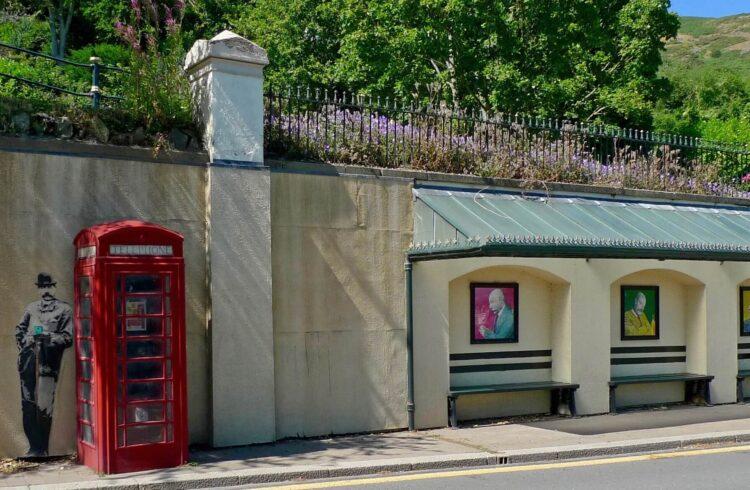 Elgar Murals in Malvern