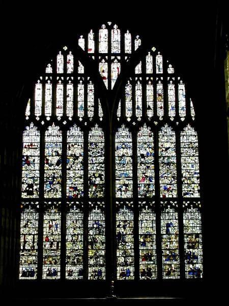 Great Malvern Priory Window