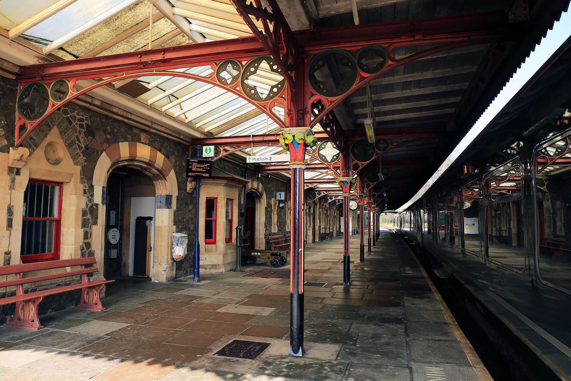 Great Malvern Station Platform