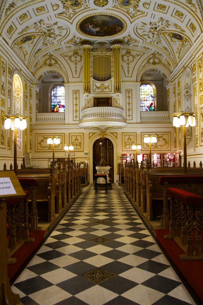 Great Witley Parish Church Interior