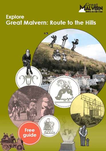 Route to the Hills Guide Book Cover