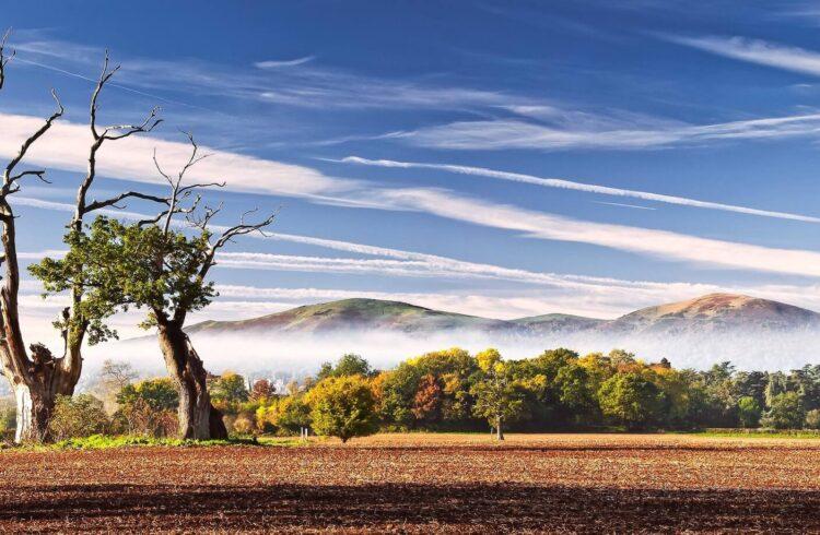 Malvern Hills From Madresfield Copyright Jan Sedlacek