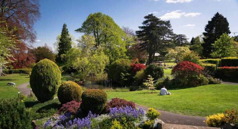 Malvern Hills From Priory Park Copyright Jan Sedlacek