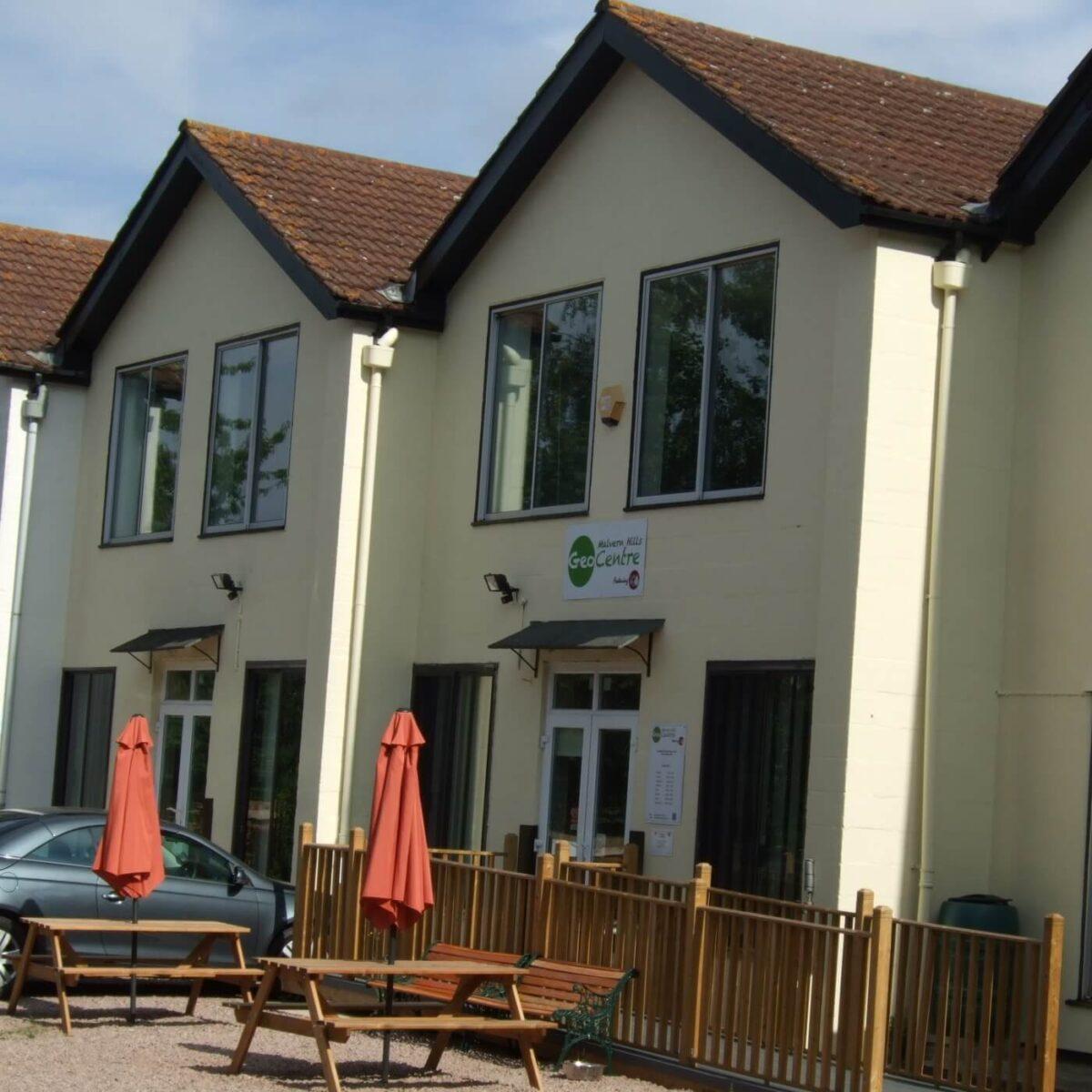 Malvern Hills GeoCentre featuring Cafe H2O 2