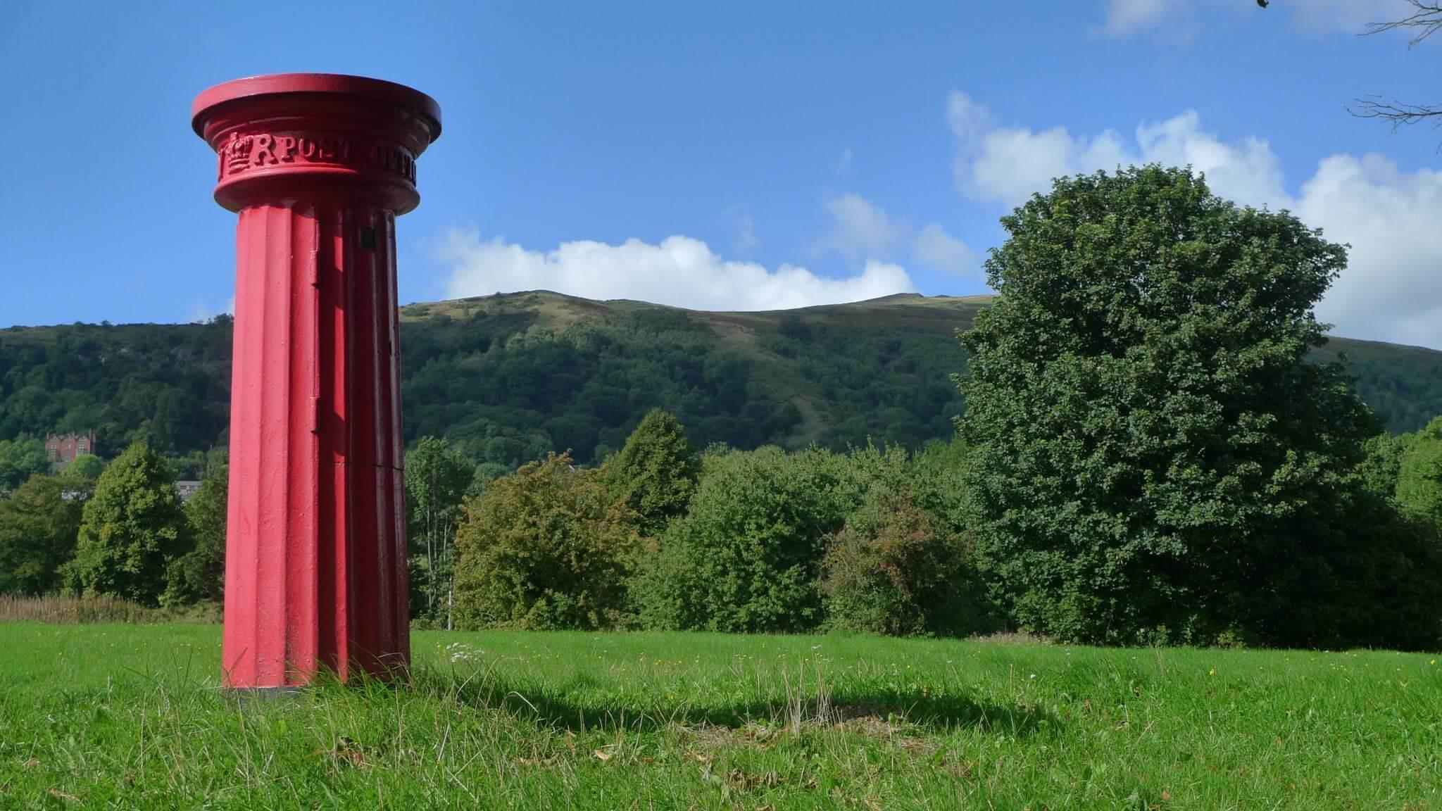 Postbox in Malvern