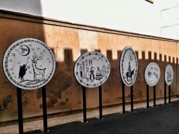 Route to the Hills Plaques