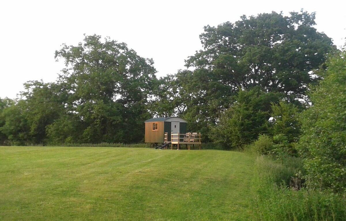 Shepherds Hut at Broad Oak 1