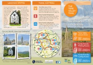 Teme Valley Trail Guide Cover