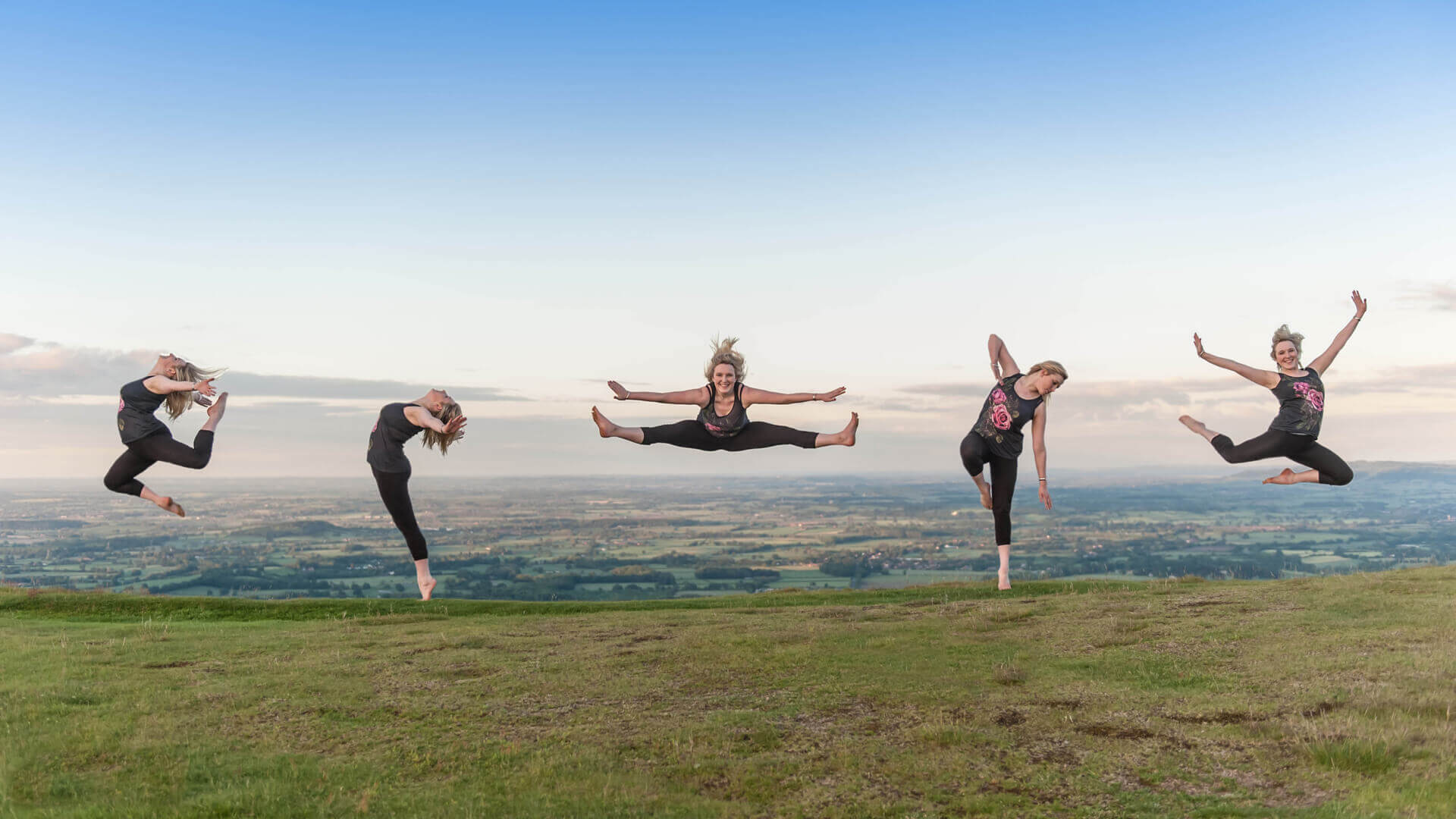 Leaping on the Malverns