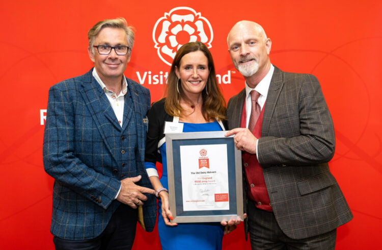 The Old Dairy wins VisitEngland Rose Award 2019