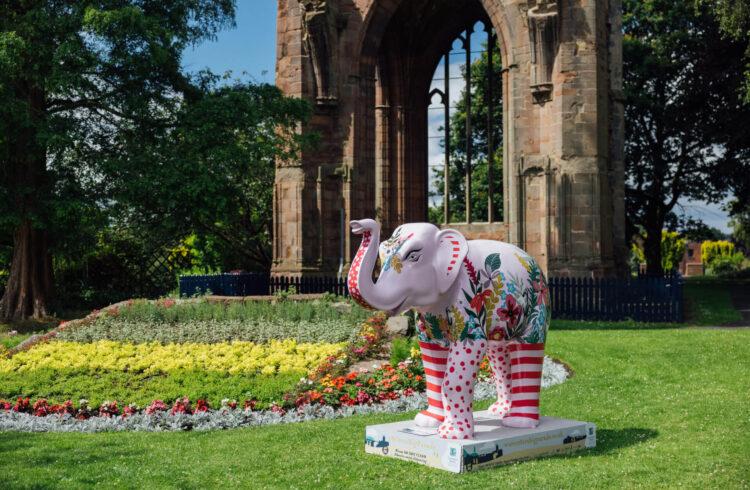 Katie Hodgett's elephant sculpture