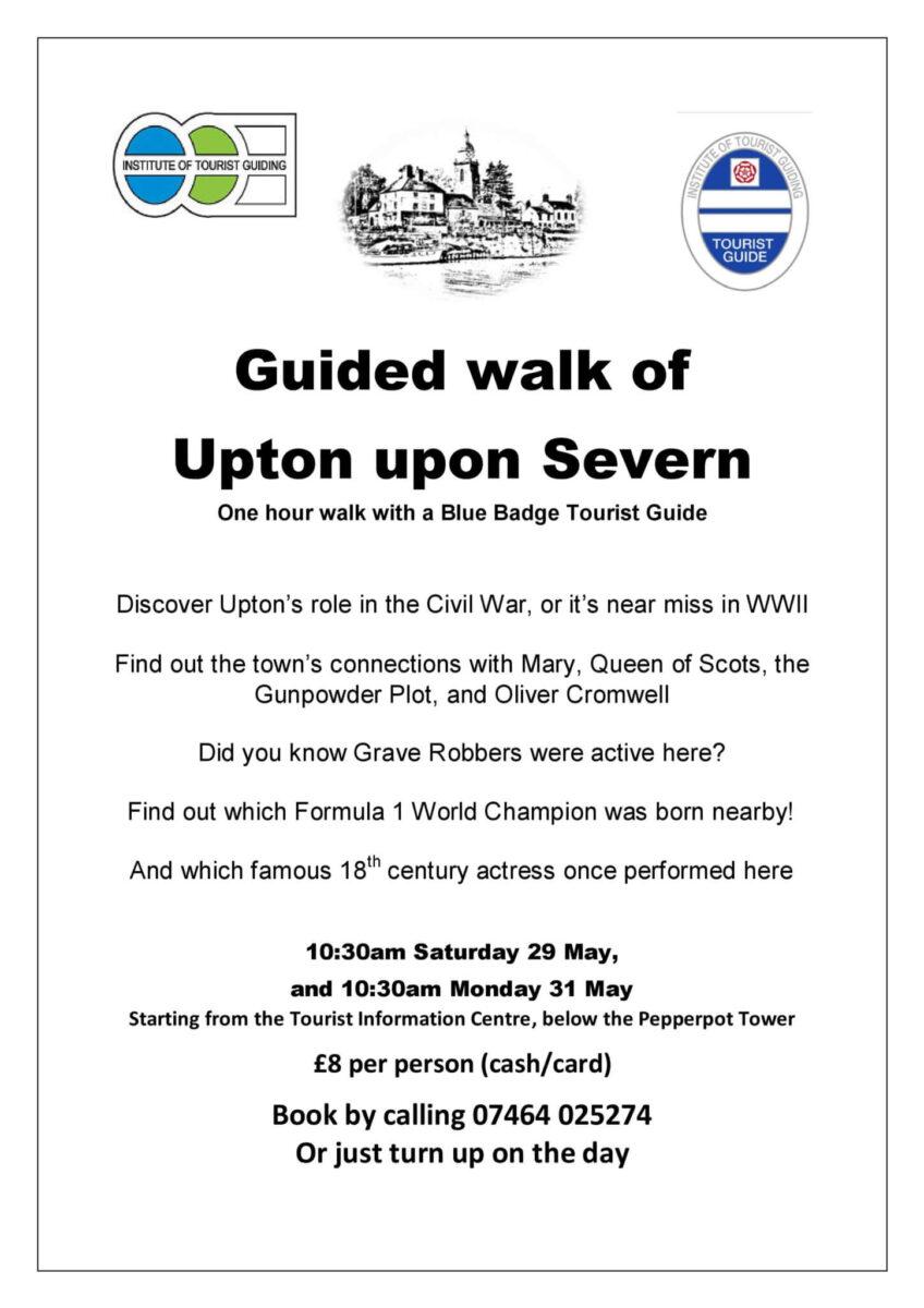 Guided Walk of Upton Leaflet