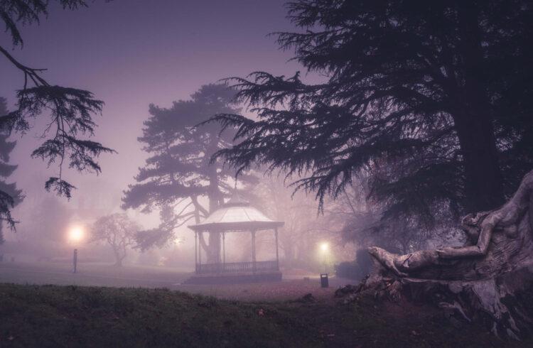 Malvern after dark