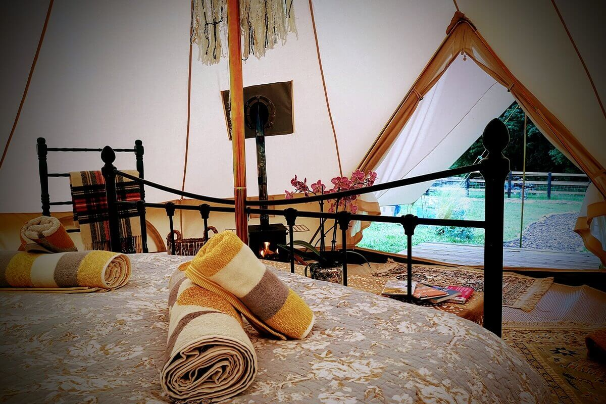 Just One Bell Tent