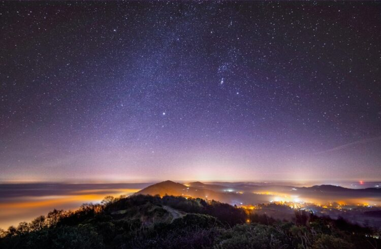 Malvern Hills at Night