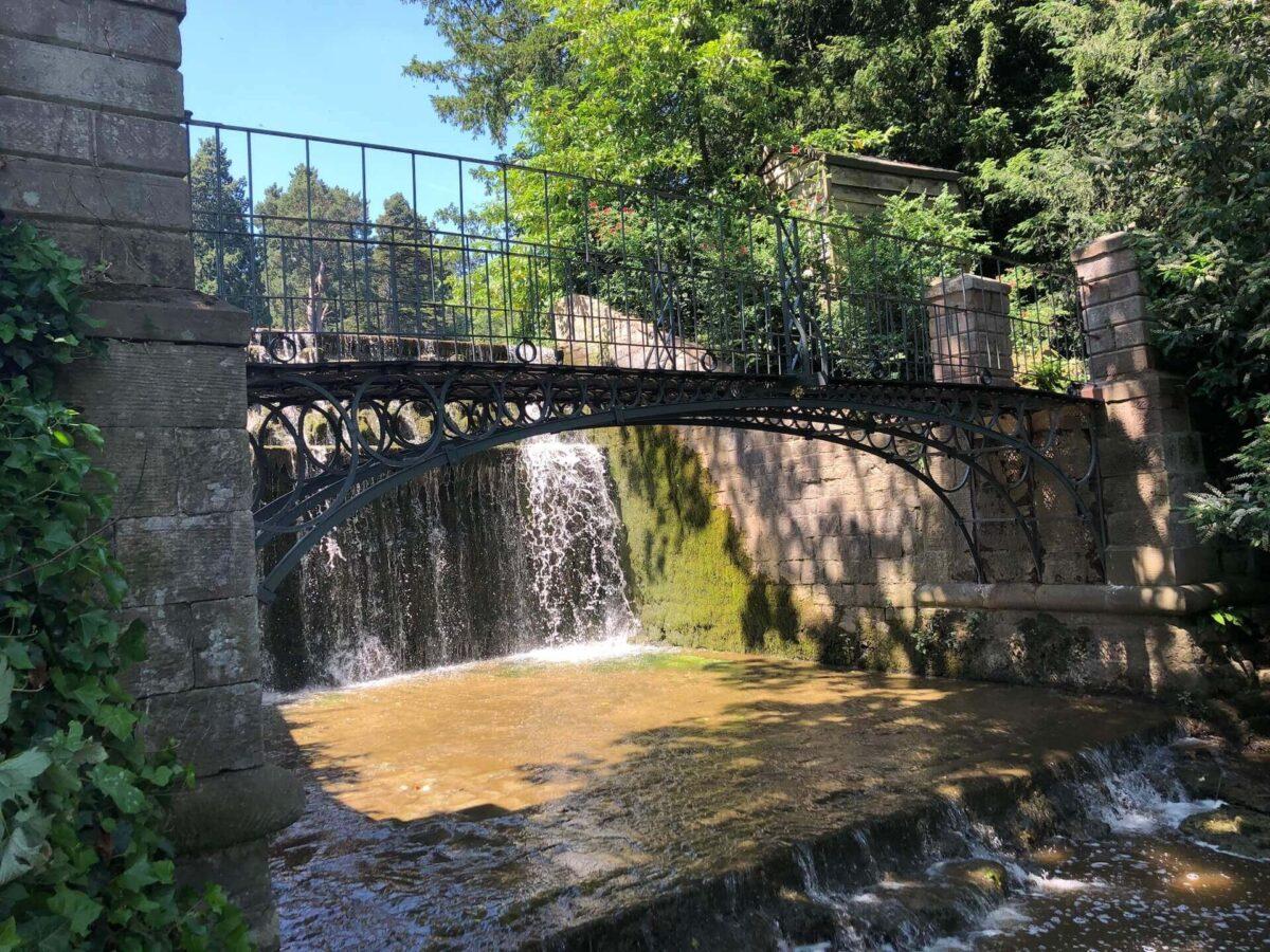 Weir Bridge at Eastnor Castle