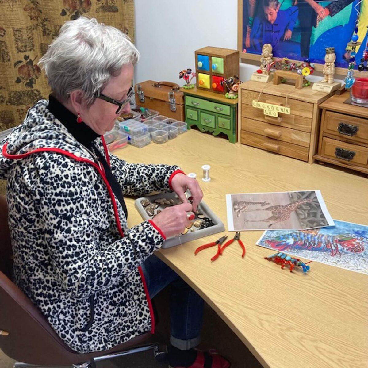Local artist Julie Thomas