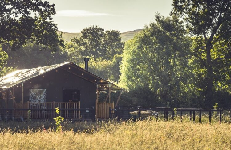 Swallowfields Glamping exterior