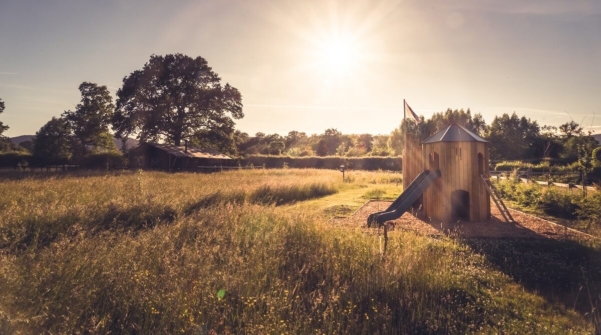 Swallowfields Glamping - play area