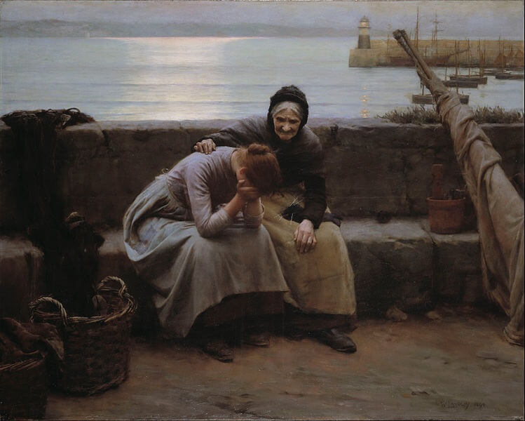 Walter Langley painting from BMAG
